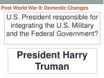 post world war ii domestic changes14