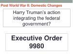 post world war ii domestic changes16