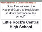 post world war ii domestic changes25