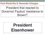 post world war ii domestic changes26