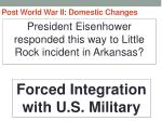 post world war ii domestic changes27