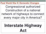 post world war ii domestic changes3