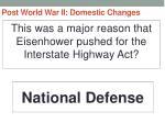 post world war ii domestic changes4