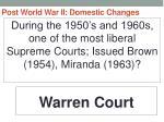 post world war ii domestic changes40
