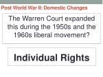 post world war ii domestic changes42
