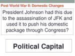 post world war ii domestic changes45