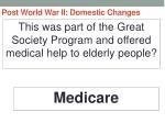 post world war ii domestic changes48