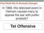 post world war ii domestic changes50