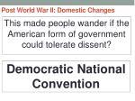post world war ii domestic changes54
