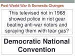 post world war ii domestic changes55