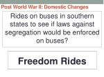 post world war ii domestic changes58