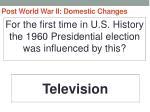 post world war ii domestic changes6