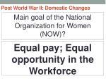 post world war ii domestic changes63
