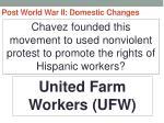 post world war ii domestic changes65
