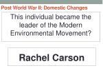 post world war ii domestic changes68