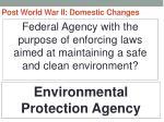post world war ii domestic changes73