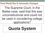 post world war ii domestic changes79