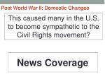post world war ii domestic changes8