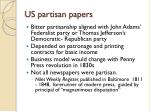 us partisan papers
