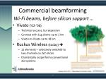 commercial beamforming