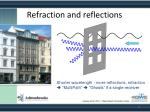 refraction and reflections