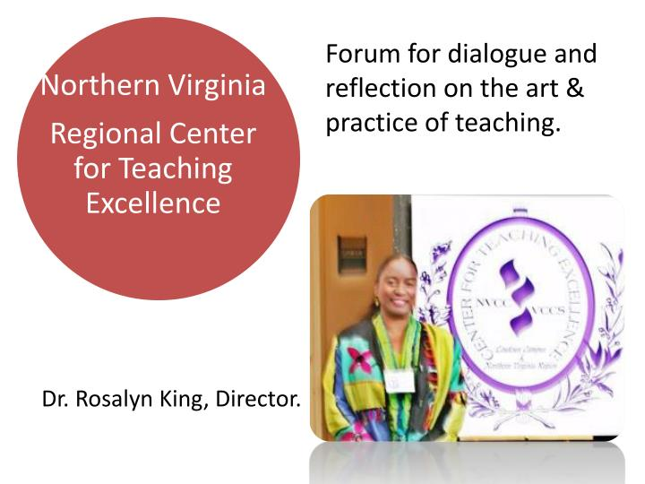 Forum for dialogue and reflection on the art & practice of teaching.
