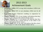 2012 2013 achievement goals1