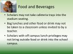 food and beverages2