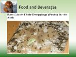 food and beverages3