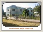 herat university medical library 2006