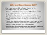 why an open source ils