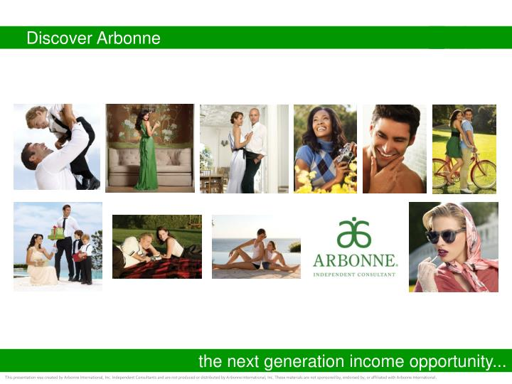 discover arbonne n.