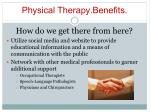 physical therapy benefits11