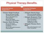 physical therapy benefits13
