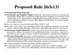 proposed rule 26 b 3