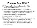 proposed rule 26 b 7