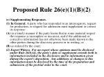 proposed rule 26 e 1 b 2