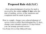 proposed rule 4 d 3 c