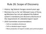 rule 26 scope of discovery