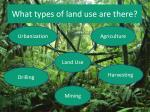what types of land use are there