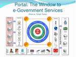 portal the window to e government services source smart cube