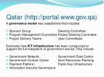 qatar http portal www gov qa