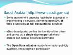 saudi arabia http www saudi gov sa