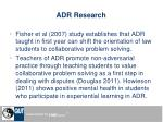 adr research