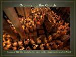 organizing the church4