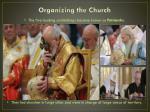 organizing the church6