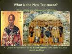 what is the new testament3