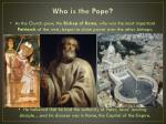 who is the pope