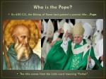 who is the pope1