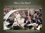 who is the pope2